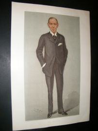 Vanity Fair Print 1902 Earl of Desart, Legal
